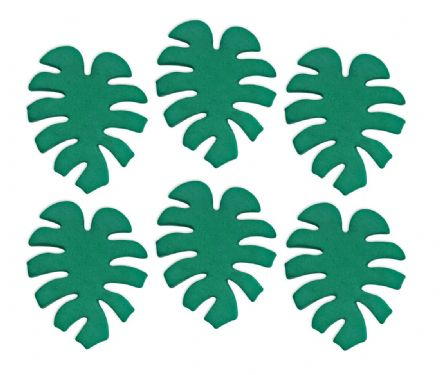 Tropical Leaves Sugar Decorations